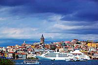Bosphorus and Galata Tower