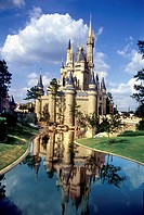 disney, castle, florida, usa,world,blue,sky