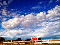 Skyscape on Prairie Farm