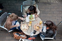 Cafe Scene, Carnaby Street, London, England