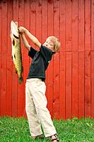 Boy with the fish