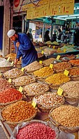 Spices, Herbs and Nuts, Downtown Amman, Jordan, The Middle East