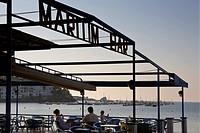 Cadaqués  Maritim Bar in La Plaja beach  Costa Brava  Girona province  Catalonia  Spain