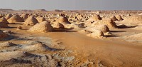 rock formations in White Desert, Egypt, White Desert National Park, Farafra