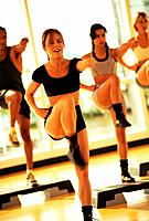 Step Aerobics Class