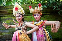 Indonesia, Asia, Bali Island, Batubulan, Temple, Barong, Dance, woman, Actors, colourful, young, artist, tradition, show