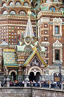 Rusia , San Petersburg City, Church of the Savior on Spilled Blood.