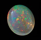 roundly smoothed Mexican opal