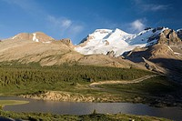 Mount Athabasca, Jasper National Park, Alberta, Canada.