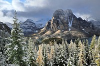 Sunburst Peak, Mount Assiniboine Provincial Park, Rocky Mountains, British Columbia, Canada