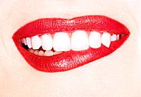 Woman´s Mouth with Lipstick