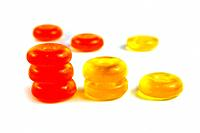 sugar candies isolated