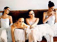 Four female ballet dancers