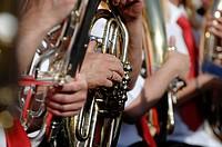 bugle player, Germany