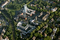 German mining museum and police headquarters, Germany, North Rhine_Westphalia, Ruhr Area, Bochum