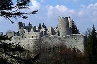 Castle Ruin Eisenberg, Germany, Bavaria, Allgaeu, Kaufbeuren