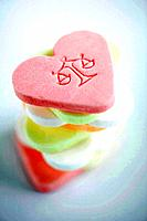Scale Imprint on Heart_Shaped Candies