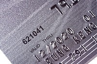 Credit card_financial background