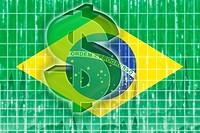 Flag of Brazil finance economy