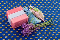 Lavender soap and scented sackets