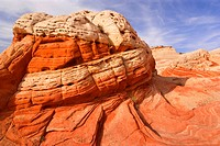 ´White Pocket´ sandstone formations, USA, Utah, Grand Staircase Escalante National Monument, Vermillion Cliffs