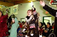 B.Summers, Traditional Dancing, Nunavut