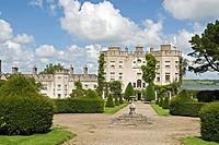 geography/travel, Ireland, Limerick, Glin, castles, Glin Castle, built circa 1780, exterior view,
