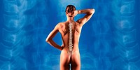 Spinal Column of a Young Woman