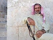Portrait of an old man  Aleppo, Syria