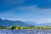 evening light over Castlelough Bay, Loch Leane, Ireland, Kerry