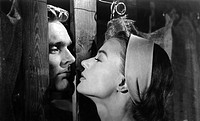 couples, kissing, kissing scene from an unidentified movie,