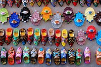 Souvenir Fridge Magnets for sale, Marrakech, Morocco