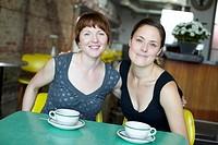 Women Having Coffee