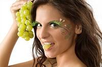 biting grape