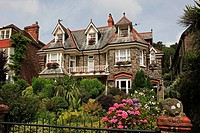 Typical house, Lynton, Devon