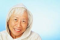 Woman Wearing Hooded Sweatshirt