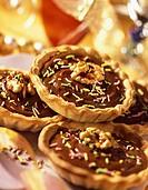 individual chocolate tarts