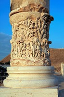 Ruins of ancient city of Scythopolis 2nd century AD, Beit Shean, Israel