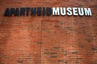 Apartheid Museum Building