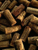 Heap of corks