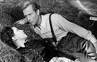 movie, Das Tor zum Paradies, DEU 1949, director: Josef von Baky, scene with: Ursula Lingen Mena, Viktor Staal Gidi,