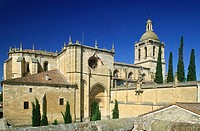 A cathedral in the Salamanca region of Spain.