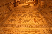 Old Baptistery Floor Mosaic in Moses Memorial Church by Soelos, Kaiamos and Elias
