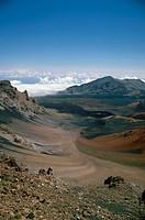Sliding Sands Trail in Haleakala Crater