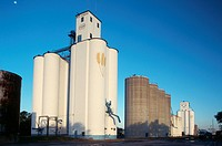 Grain Elevator and Silos, Kansas