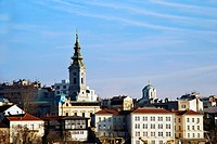 Belgrade urban view