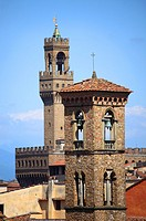 Europe,italy,tuscany,florence,old city,Palazzo Vecchio in background