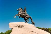 Bronze Horseman. St. Petersburg. Russia