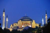 Hagia Sophia at Dusk