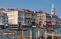 Venezia (Italy): view of the Canale di San Marco